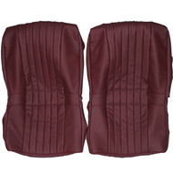 1968-1975 BMW E9 3.0 CS Custom Real Leather Seat Covers (Rear)