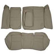 2004-2008 ACURA TSX CL9 Custom Real Leather Seat Covers (Rear)