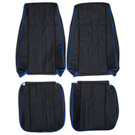 1981-1988 Chevrolet K5 Blazer Custom Real Leather Seat Covers (Front)