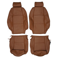 2008-2013 BMW E88 1-Series 135i 125i Convertible Sport Custom Real Leather Seat Covers (Front)
