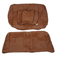 2008-2013 BMW E88 1-Series 135i 125i Convertible Sport Custom Real Leather Seat Covers (Rear)