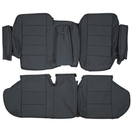 1990-1995 Range Rover Classic SWB Custom Real Leather Seat Covers (Rear)