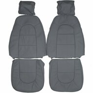 1984-1998 Saab 9000 Custom Real Leather Seat Covers (Front)