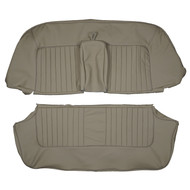 1967-1973 Rover P5b Bench Custom Real Leather Seat Covers (Rear)