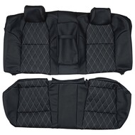 2004-2008 Acura TL Custom Real Leather Seat Covers (Rear)
