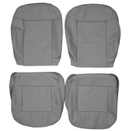 1991-2000 Audi Cabriolet Custom Real Leather Seat Covers (Front)