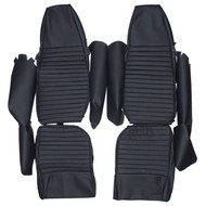 1966-1970 Triumph GT6 GT6+ MK1 MK2 Custom Real Leather Seat Covers (Front)