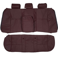 1996-2003 BMW E39 540i 530i Comfort Custom Real Leather Seat Covers (Rear)