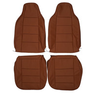 1979-1995 Volkswagen Rabbit Pickup MK1 Custom Real Leather Seat Covers (Front)