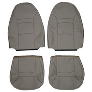 2000-2008 Ford E-150 E-250 E-350 Econoline Van Custom Real Leather Seat Covers (Front)
