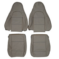 1998-2000 Mazda MX-5 Miata NB8 Custom Real Leather Seat Covers (Front)