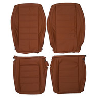 2002-2007 Volkswagen Touareg Custom Real Leather Seat Covers (Front)