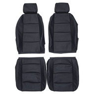 2000-2008 Audi A4 B6/B7 Custom Real Leather Seat Covers (Front)
