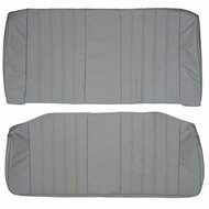 1984-1992 BMW E30 Sedan Without Center Armrest Custom Real Leather Seat Covers  (Rear)