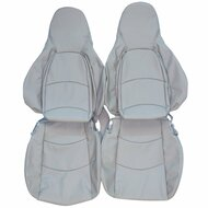 1991-1995 Porsche 968 Custom Real Leather Seat Covers (Front)