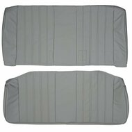 1984-1992 BMW E30 Coupe Without Center Armrest Custom Real Leather Seat Covers (Rear)