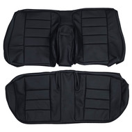 1982-1988 Mercedes Benz 190e W201 Custom Real Leather Seat Covers (Rear)