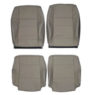 1998-2002 Volkswagen Golf Cabriolet Convertible Custom Real Leather Seat Covers (Front)