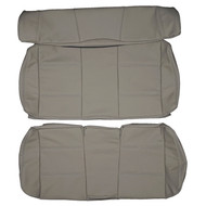 1998-2002 Volkswagen Golf Cabriolet Convertible Custom Real Leather Seat Covers (Rear)
