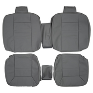 1990-1994 Mercedes Benz W124 300CE Custom Real Leather Seat Covers (Rear)