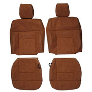 2005-2008 Ford F-150 King Ranch Crew Custom Real Leather Seat Covers (Front)