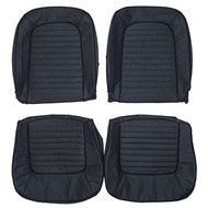 1965-1967 Ford Mustang Custom Real Leather Seat Covers (Front)
