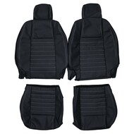 2005-2009 Ford Mustang Custom Real Leather Seat Covers (Front)
