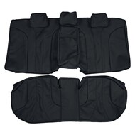 1996-2002 Mercedes Benz W210 E55 AMG Custom Real Leather Seat Covers (Rear)