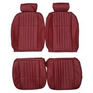 1978-1983 Ford Fairmont Futura Coupe Custom Real Leather Seat Covers (Front)