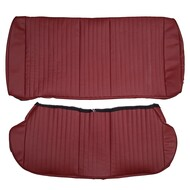 1978-1983 Ford Fairmont Futura Coupe Custom Real Leather Seat Covers (Rear)