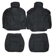 2003 Ford F-150 XLT Extended-Cab Super-Cab Custom Real Leather Seat Covers (Front)