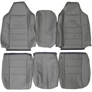 2004-2007 Ford F-250 F-350 Lariat Custom Real Leather Seat Covers (Front)