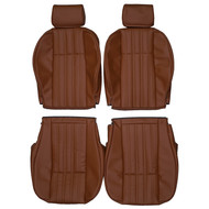 1979-1985 Fiat 124 Spider Custom Real Leather Seat Covers (Front)