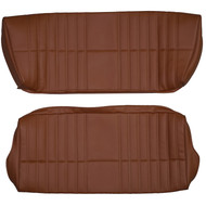 1979-1985 Fiat 124 Spider Custom Real Leather Seat Covers (Rear)