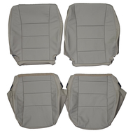 2001-2006 Mitsubishi Montero Custom Real Leather Seat Covers (Front)