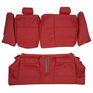 2004-2007 BMW E82 Coupe 1-Series 118i 120i Sport Custom Real Leather Seat Covers (Rear)