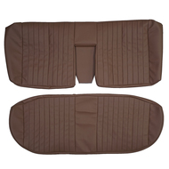 1980-1985 Mercedes Benz W123 280E 300D Custom Real Leather Seat Covers (Rear)