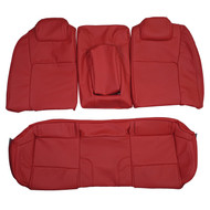 2007-2009 Pontiac G8 Custom Real Leather Seat Covers (Rear)