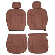 2003-2006 Ford Expedition XLT XLS Custom Real Leather Seat Covers (Front)