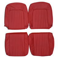 1960-1962 Ford Thunderbird T-Bird Custom Real Leather Seat Covers (Front)