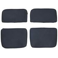 1972-1978 Toyota Land Cruiser J40 FJ40 Custom Real Leather Seat Covers (Rear)