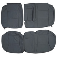 2002-2005 Saab 9-5 Aero Custom Real Leather Seat Covers (Rear)