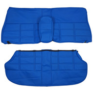 1968-1975 Volvo 164 Custom Real Leather Seat Covers (Rear)
