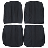 1965 Ford Galaxie 500 XL Convertible Custom Real Leather Seat Covers (Front)