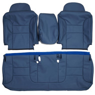 1995-1999 Chevrolet Silverado LT LS Z71 Custom Real Leather Seat Covers (Front)