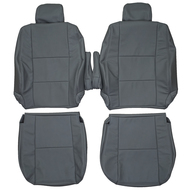 2005-2006 Toyota Tundra Custom Real Leather Seat Covers (Front)