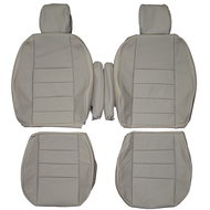 2004-2009 Land Rover Discovery LR3 Custom Real Leather Seat Covers (Front)