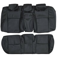 2007-2012 Lexus ES350 Custom Real Leather Seat Covers (Rear)