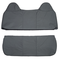 2003-2007 Ford F-250 XL Bench Custom Real Leather Seat Covers (Front)