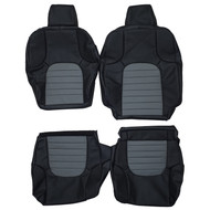 1998-2021 Nissan Frontier Custom Real Leather Seat Covers (Front)